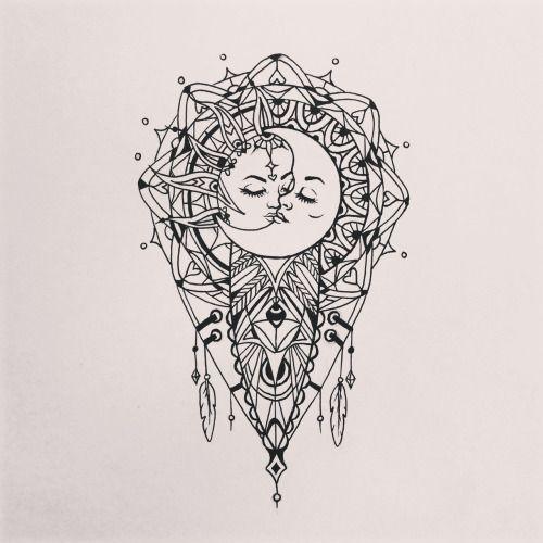 Mandala en forma de diamante