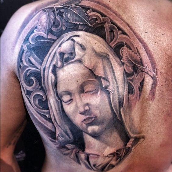 Tatuajes De La Virgen María