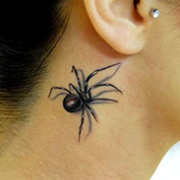 105818875f82c 40+ Super Useful Spider Web Tattoos