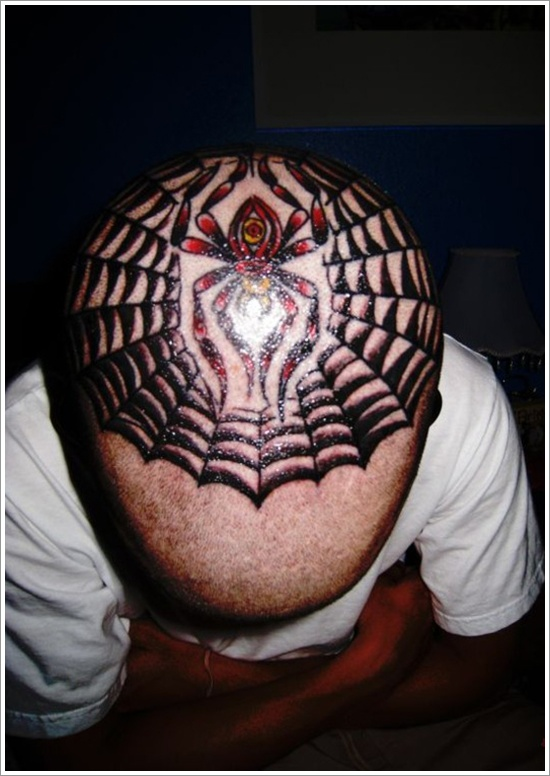 40 Super Useful Spider Web Tattoos
