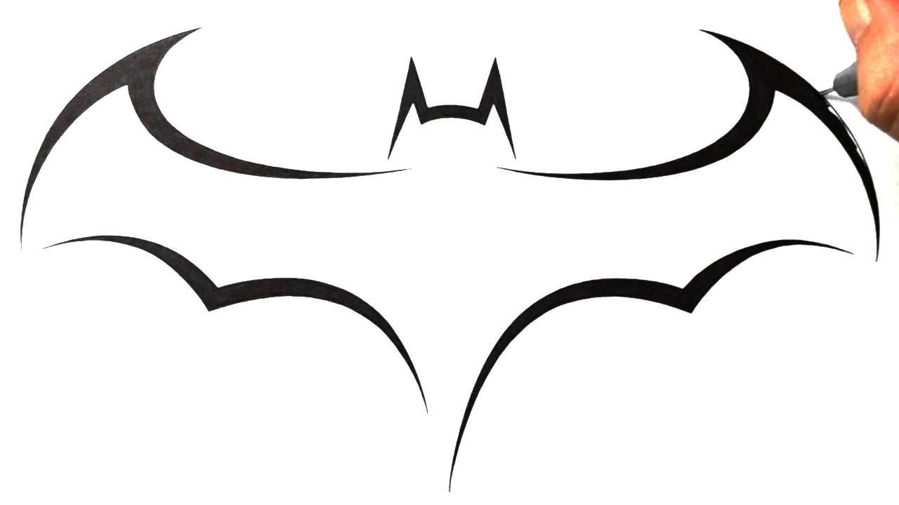 Dessins de tatouage Batman faciles 4