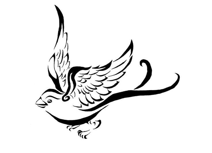 Vol du tatouage de moineau