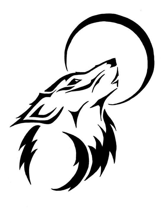 Tatouage Tribal Loup