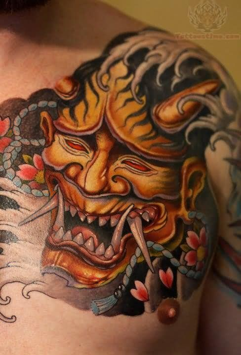 Japanse Demon Tattoo