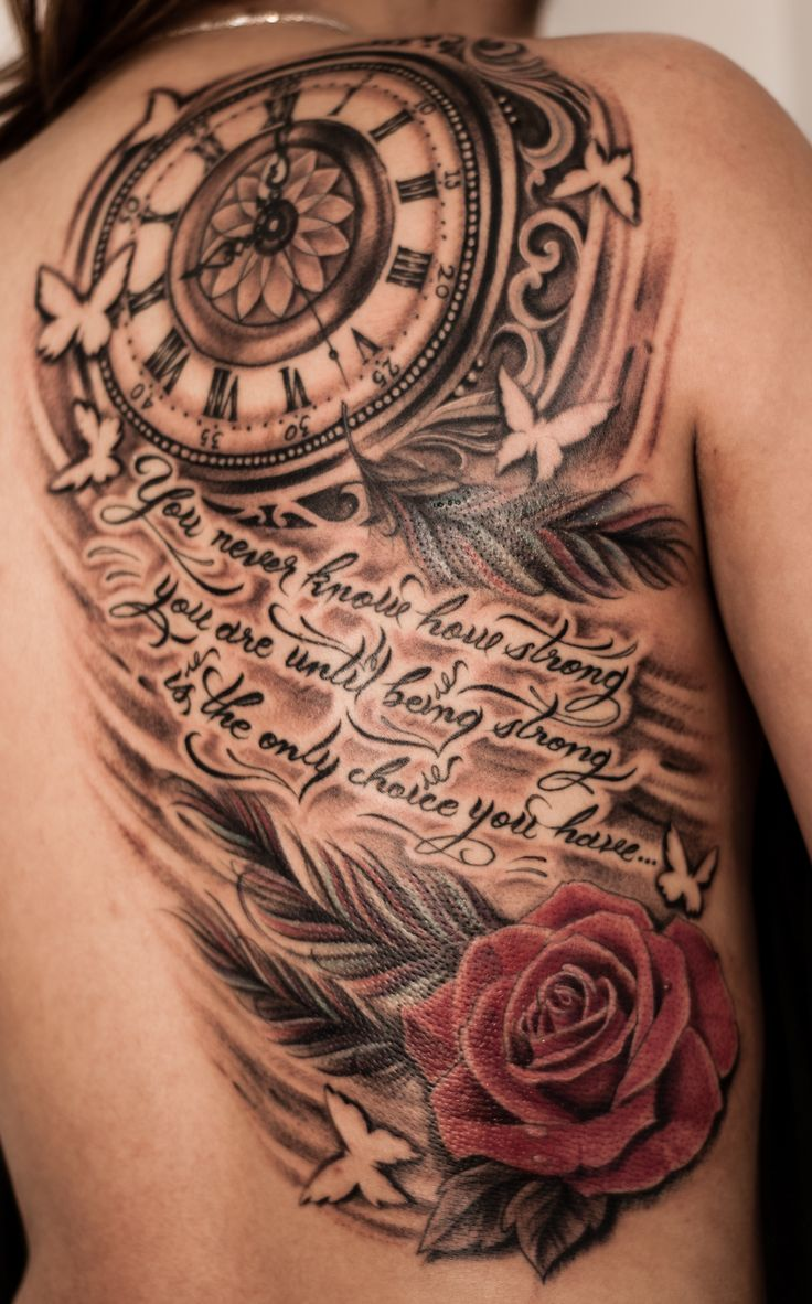 a7a547db4 40+ Stunning Clock Tattoo Designs, Ideas For Your Good Time