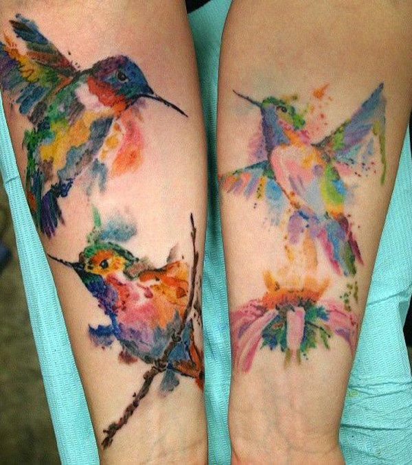 b366971fb The Best And Recommended Hummingbird Tattoos Ideas