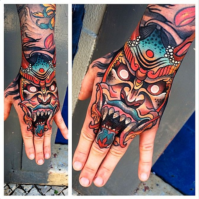 50+ Attractive Japanese Demon Tattoo Designs and Ideas