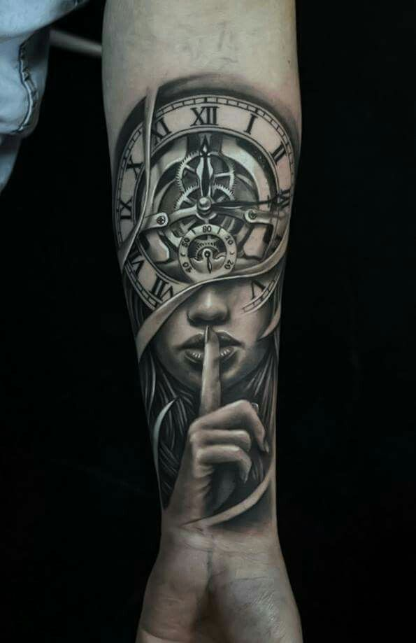 40 Stunning Clock Tattoo Designs Ideas For Your Good Time