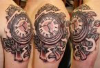 Clock Tattoo Designs