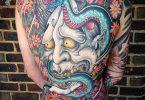 Japanese demon tattoos