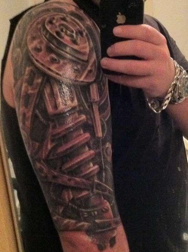 60 Glorious Mechanical Arm Tattoos Easy Design And Ideas