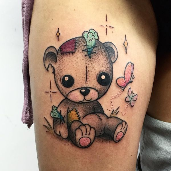 Teddy Bear Tattoo Designs