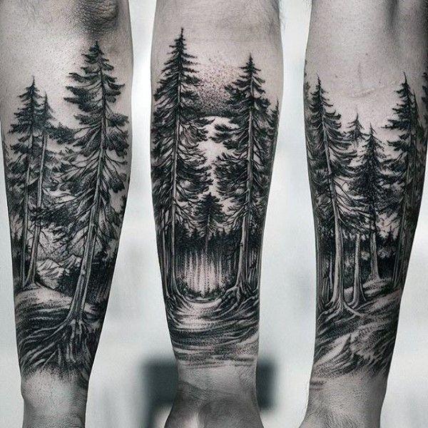27 Forearm Tattoo Design Ideas: 20+ Amazing Forearm Tree Tattoo Design And Ideas