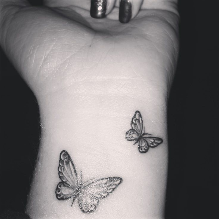 4b3fc8214 20+ Butterfly Tattoos on Wrist Design and Ideas