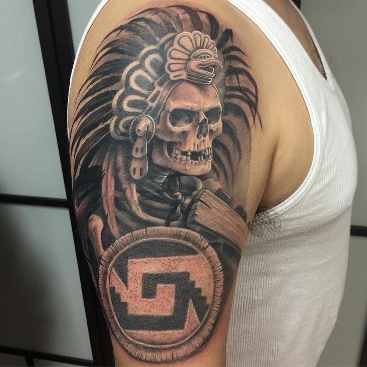 51c1055ca 12 Best Aztec Tattoo Design and Ideas