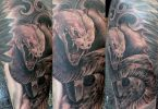 Collection de tatouages ​​de serpent japonais